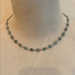 Zambian Emerald Sterling Silver Necklace